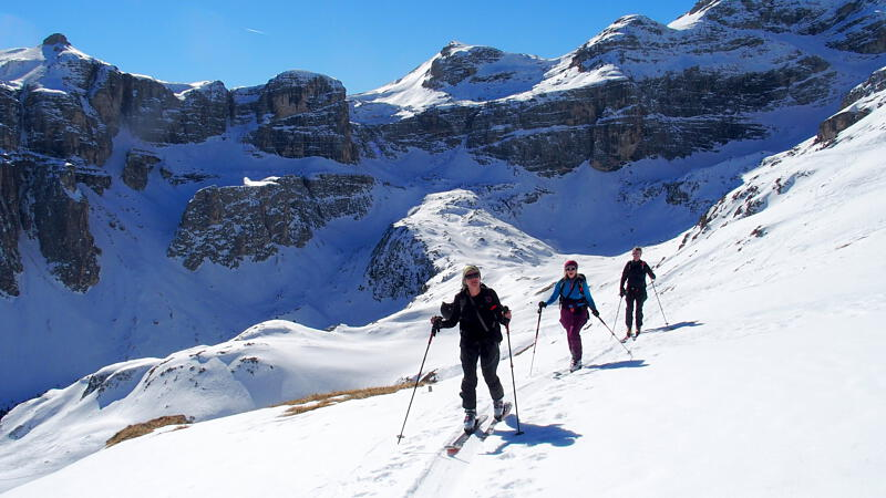In den traumhaft schönen Dolomiten