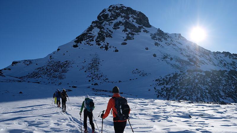Tuxer Alpen, ein Paradies für Skitouren